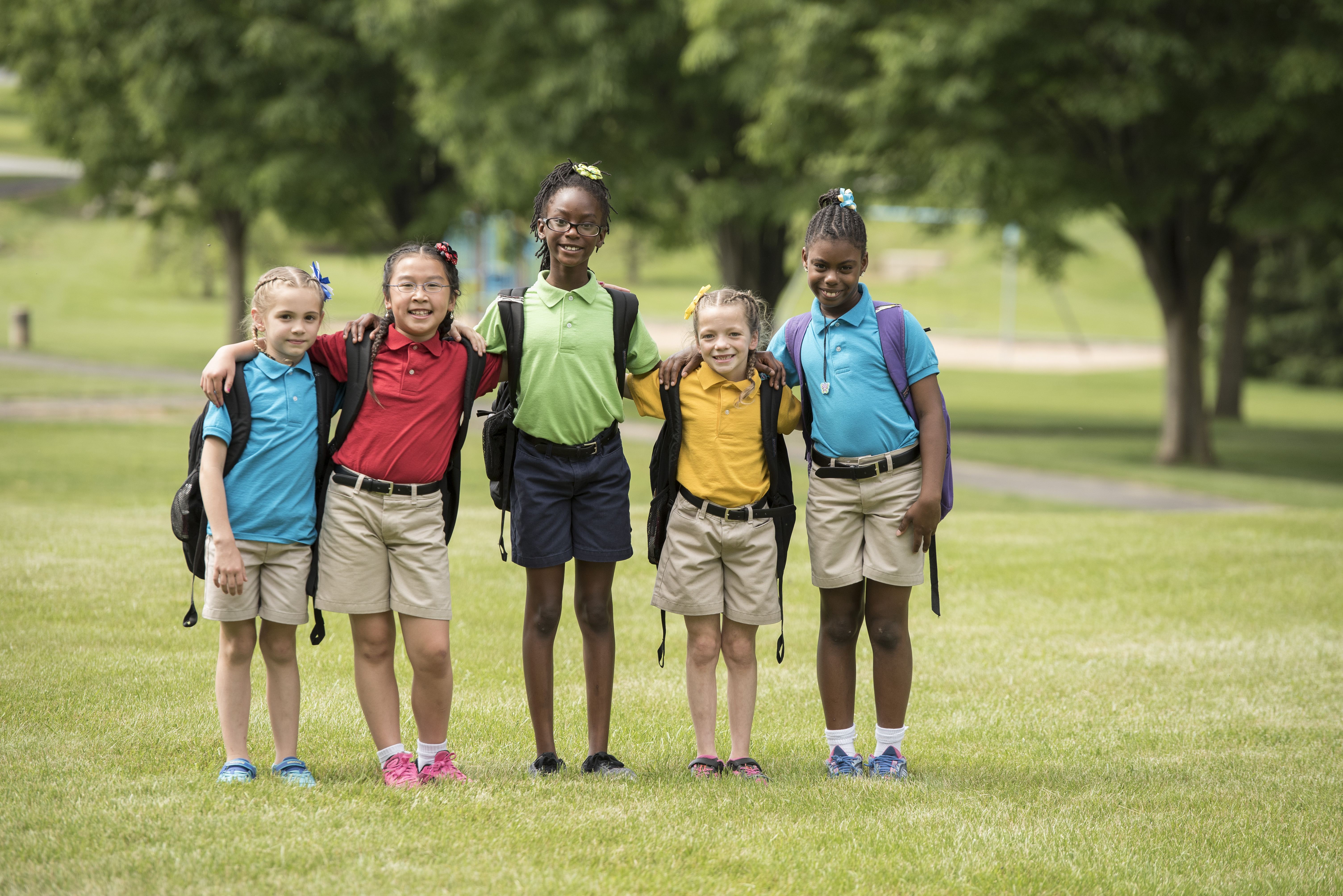 Milton Hershey School elementary schoolers on our nurturing, home-like campus.