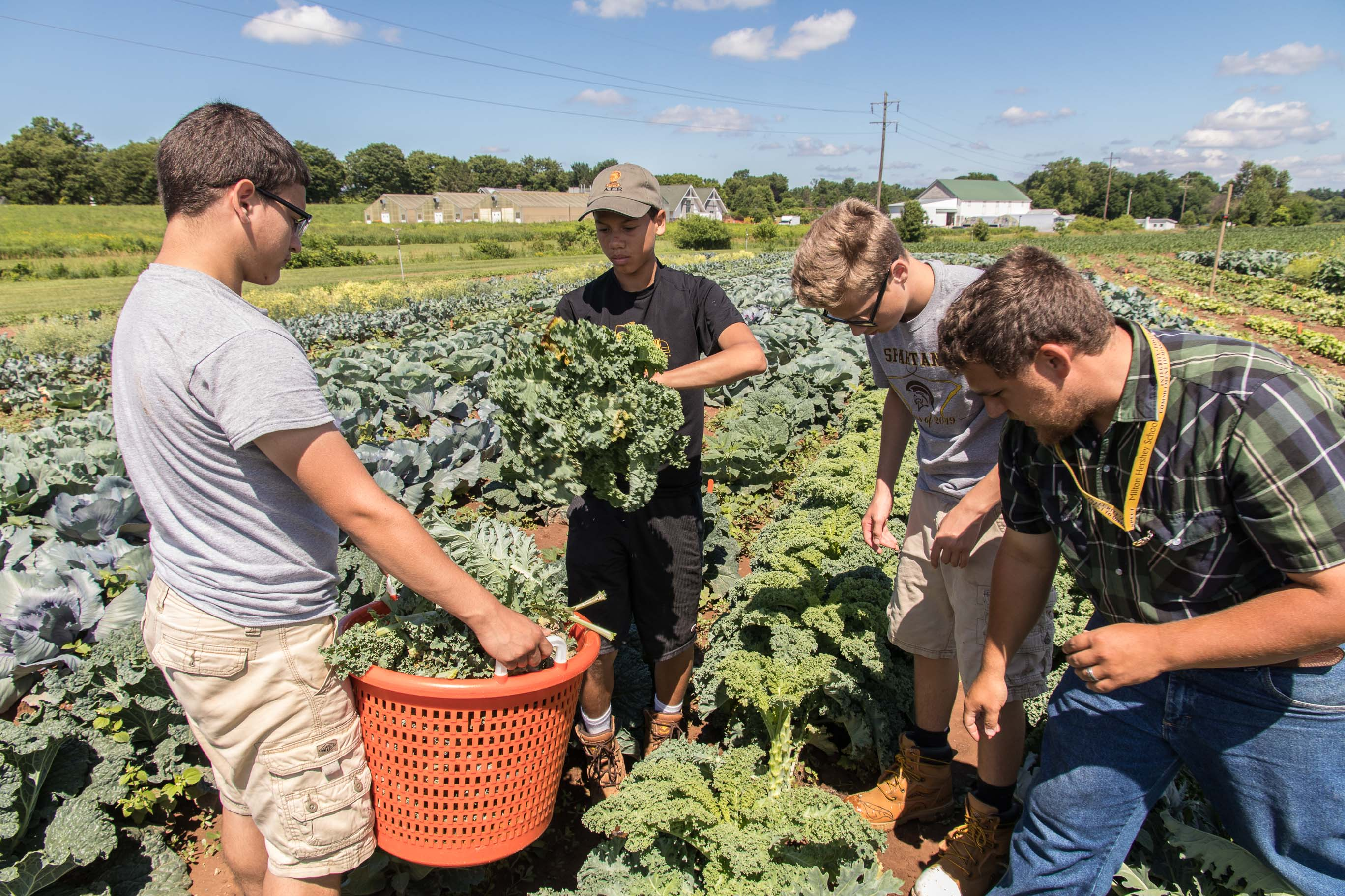 agricultural  environmental education milton hershey school