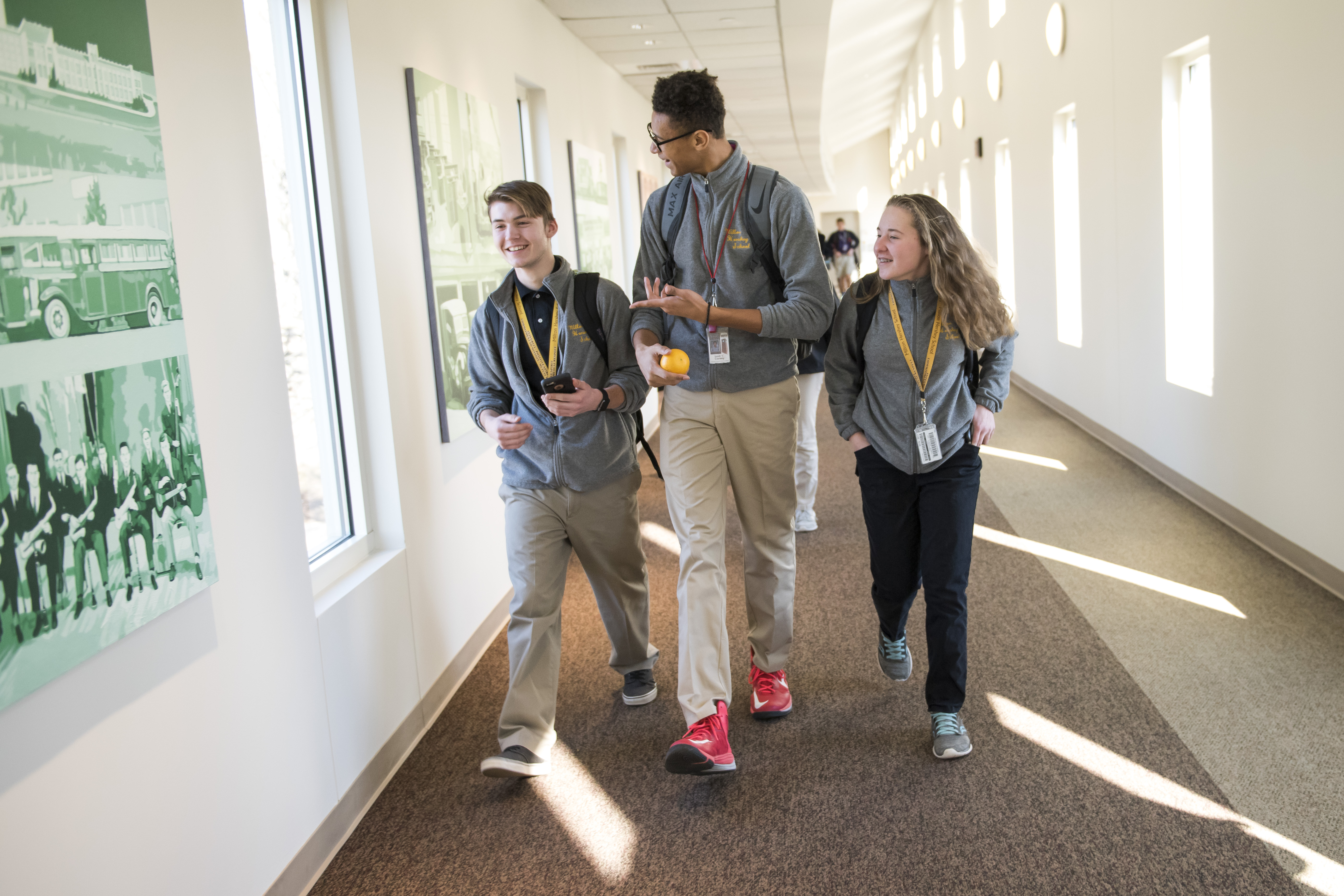 The Transitional Living program at Milton Hershey School was developed for all high school seniors. Through an independent living environment, they develop essential life skills during their last year of high school.