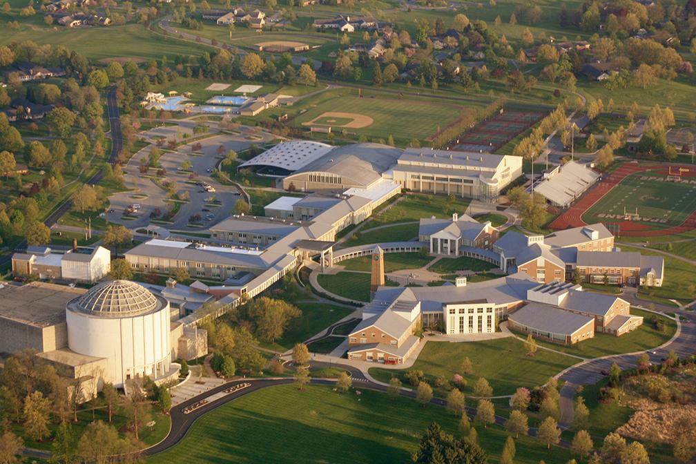 Aerial Main Campus