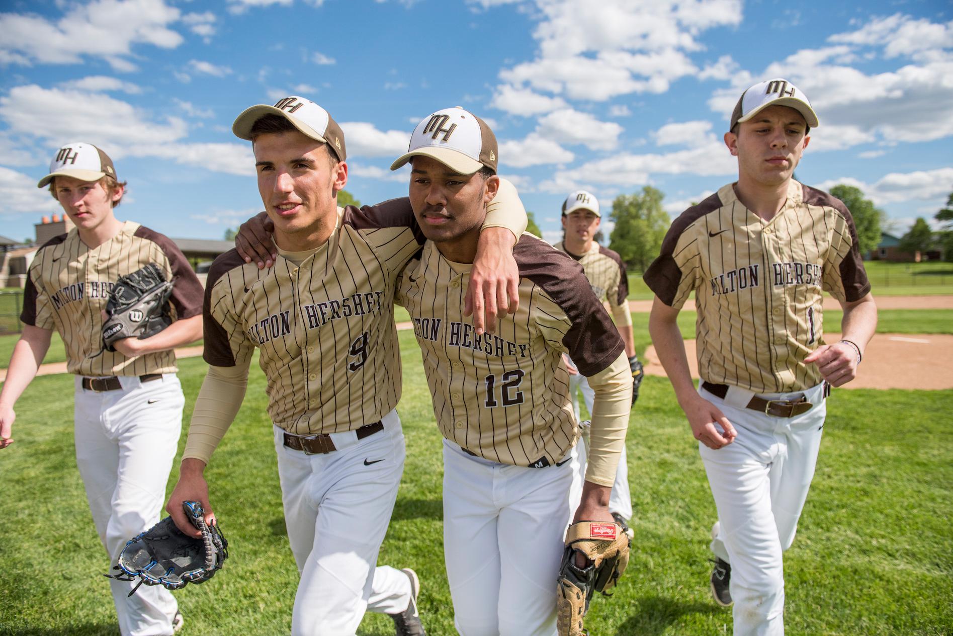 Student baseball team