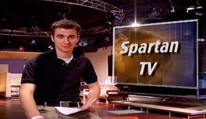 Spartan tv news anchor