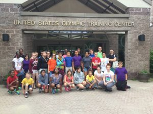 Student at United States Olympic Training Center