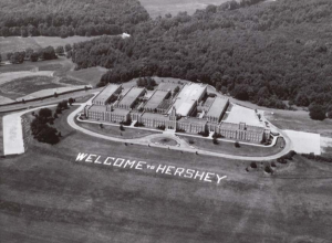 Aerial View of MHS
