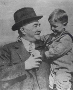 Milton Hershey Robert Sheaffer taken picture in 1923