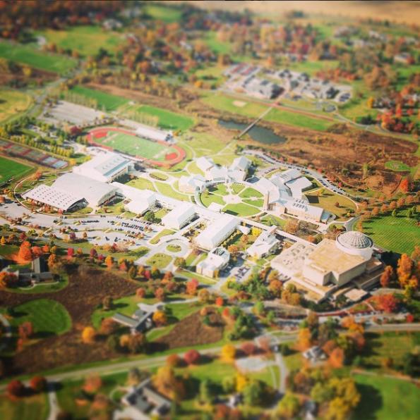 Arial View of MHS School