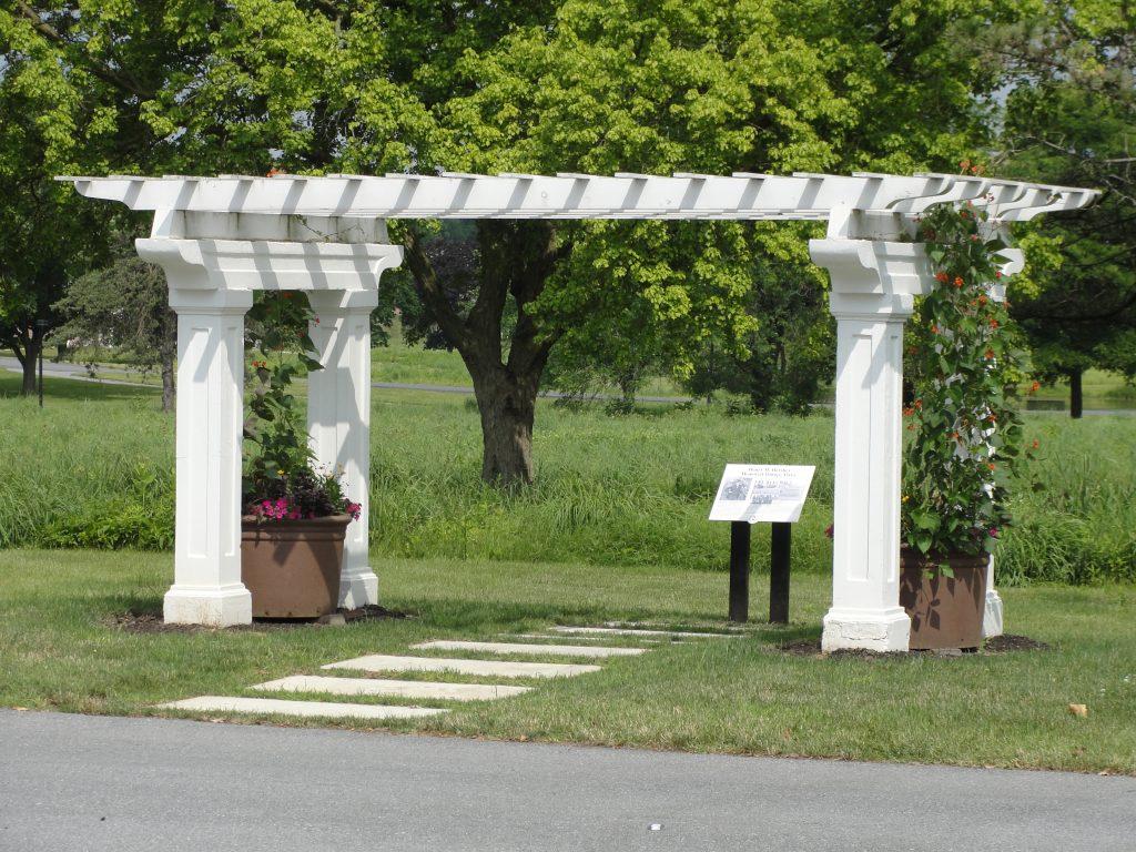 Homestead Pergola, circa 2010.