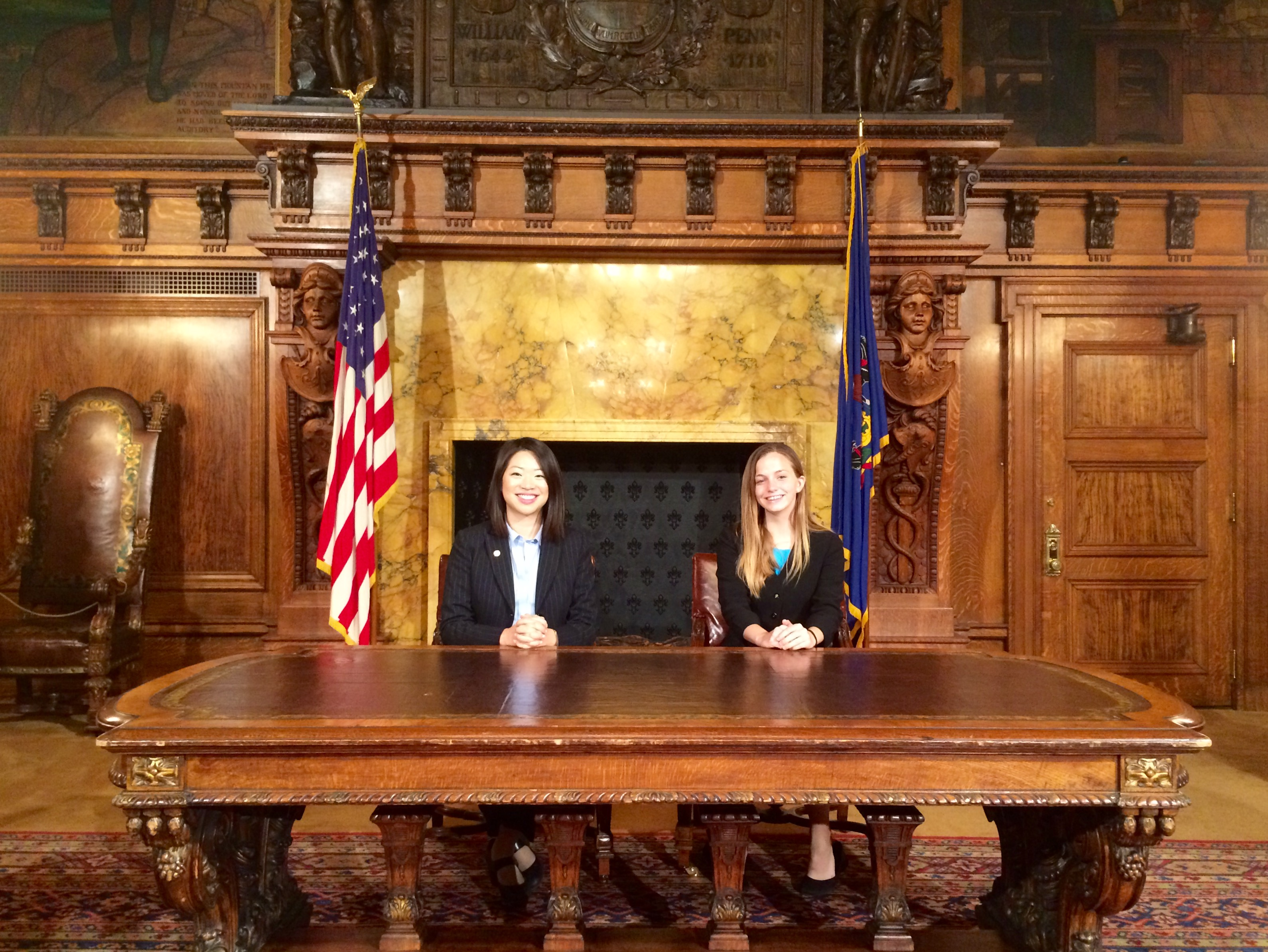 Internship in the Governor's Office