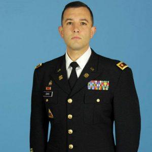Lt. Col. Paul Davis '94, an MHS alum.