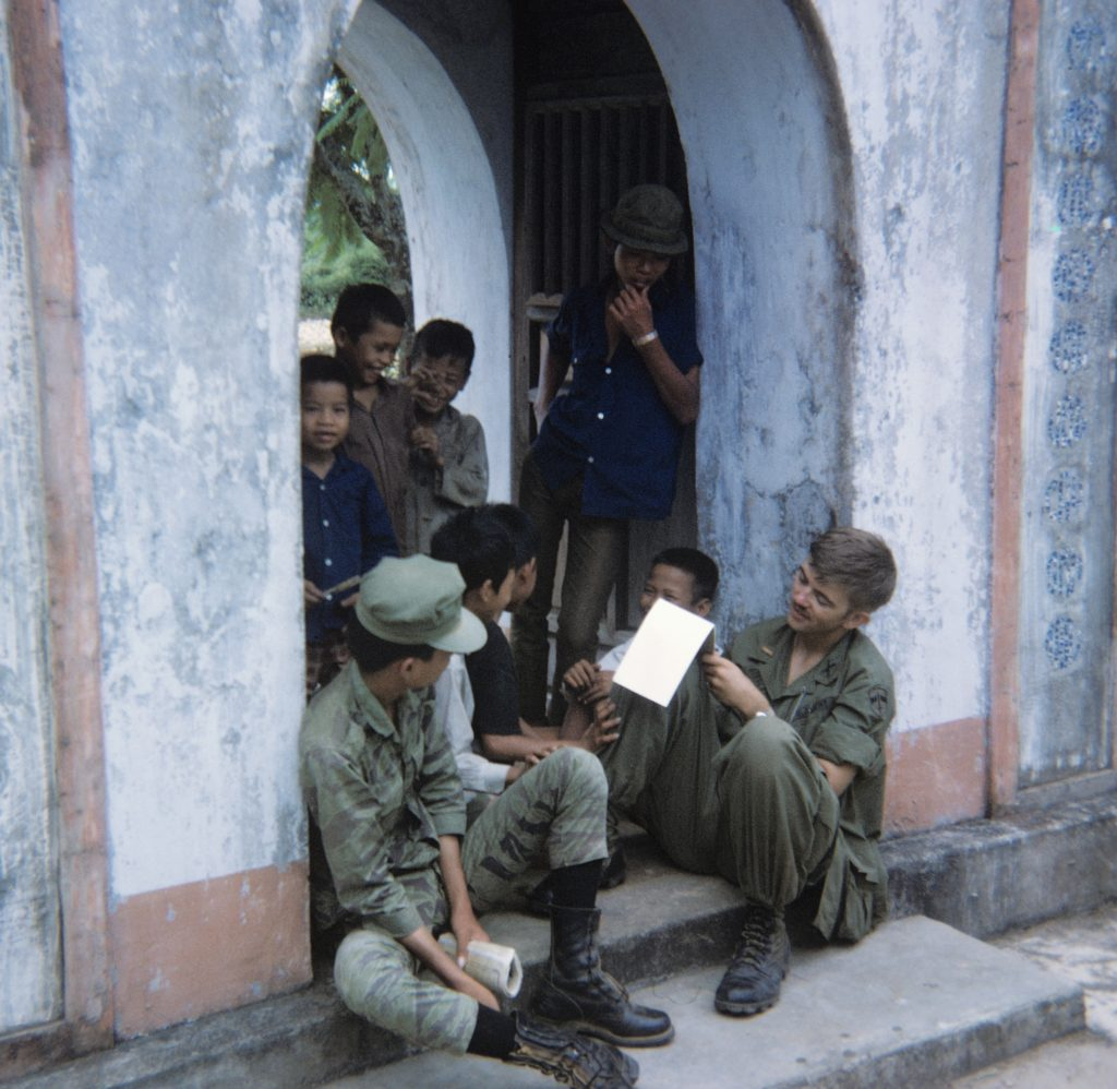 Ray in Vietnam in 1970