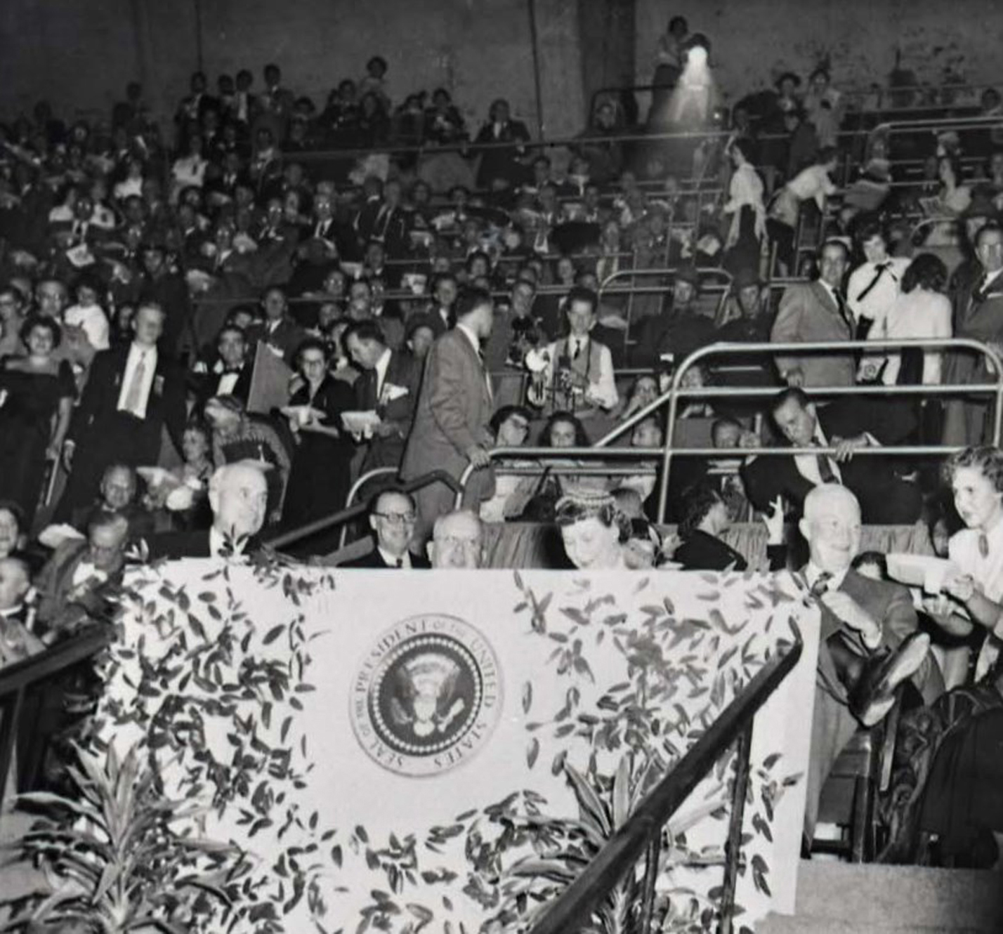 President Eisenhower S Visit To Hershey On October 13