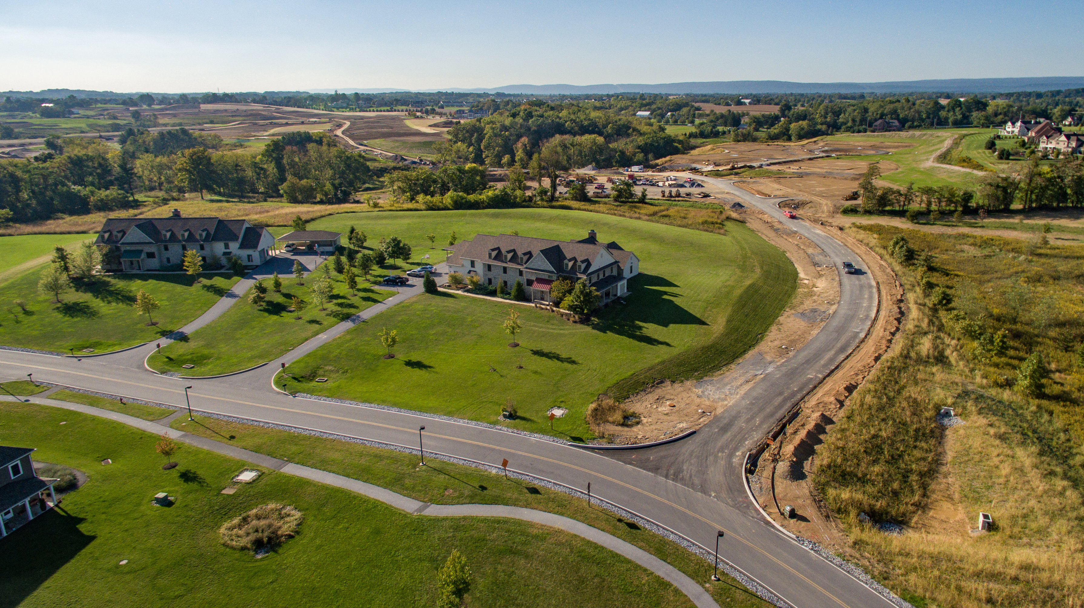"""To provide a quality home life for new students in a safe and nurturing environment, 32 student homes are currently being built on the new """"Legacy Campus."""""""