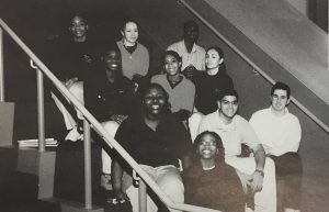 At MHS, Kay participated in Student Leadership Academy. She is pictured in the first bottom row.