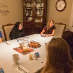 To help students develop long-term healthy habits, President Gurt '85 and his wife Jane host monthly breakfasts for seniors.