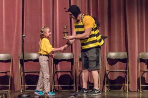 On Monday, Feb. 13, fourth-grader Madison Fischer became the 2017 Milton Hershey School Elementary Spelling Bee Champion.