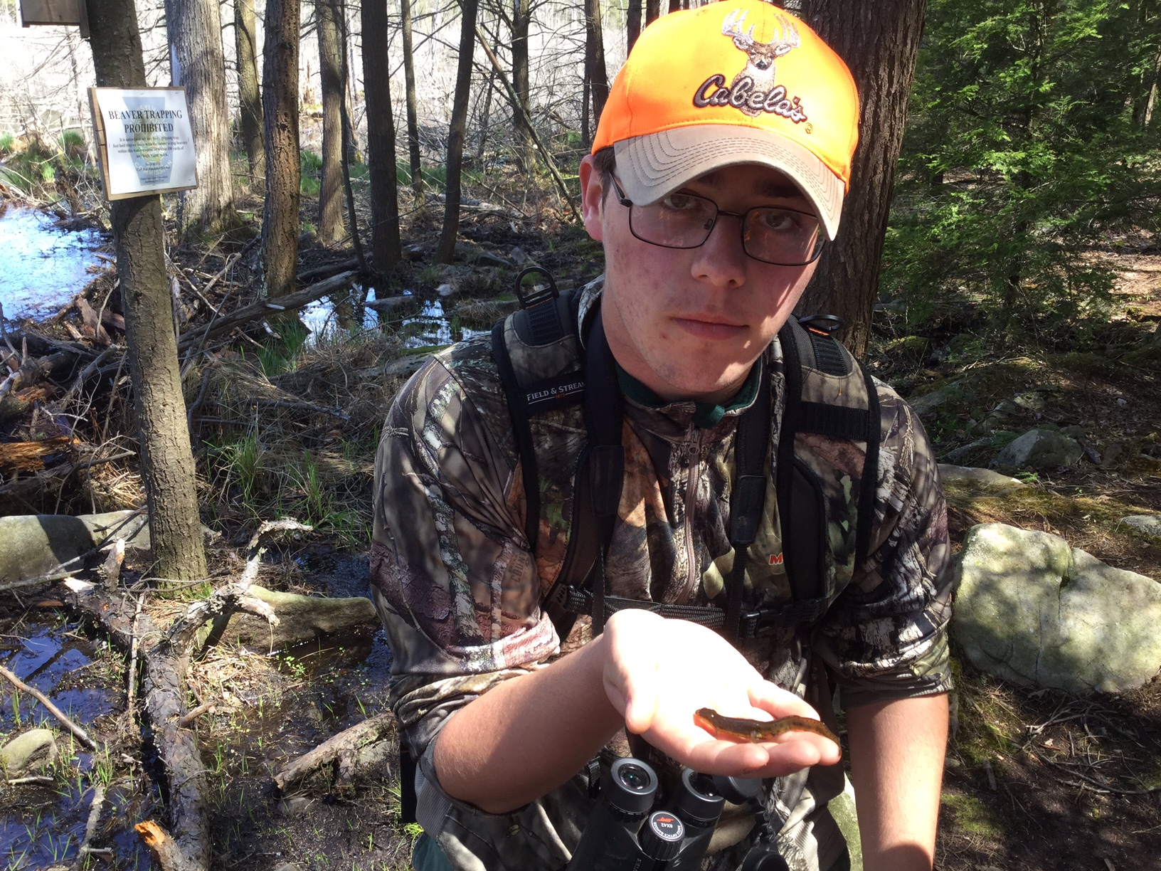 Milton Hershey School sophomore Jordan Edmonds recently was appointed to Governor Tom Wolf's 2017 Youth Council for Hunting, Fishing and Conservation.