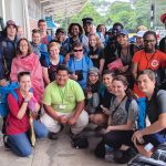 A group of 25 Milton Hershey School high school students and four staff members recently attended a Global Leadership Summit in Peru.