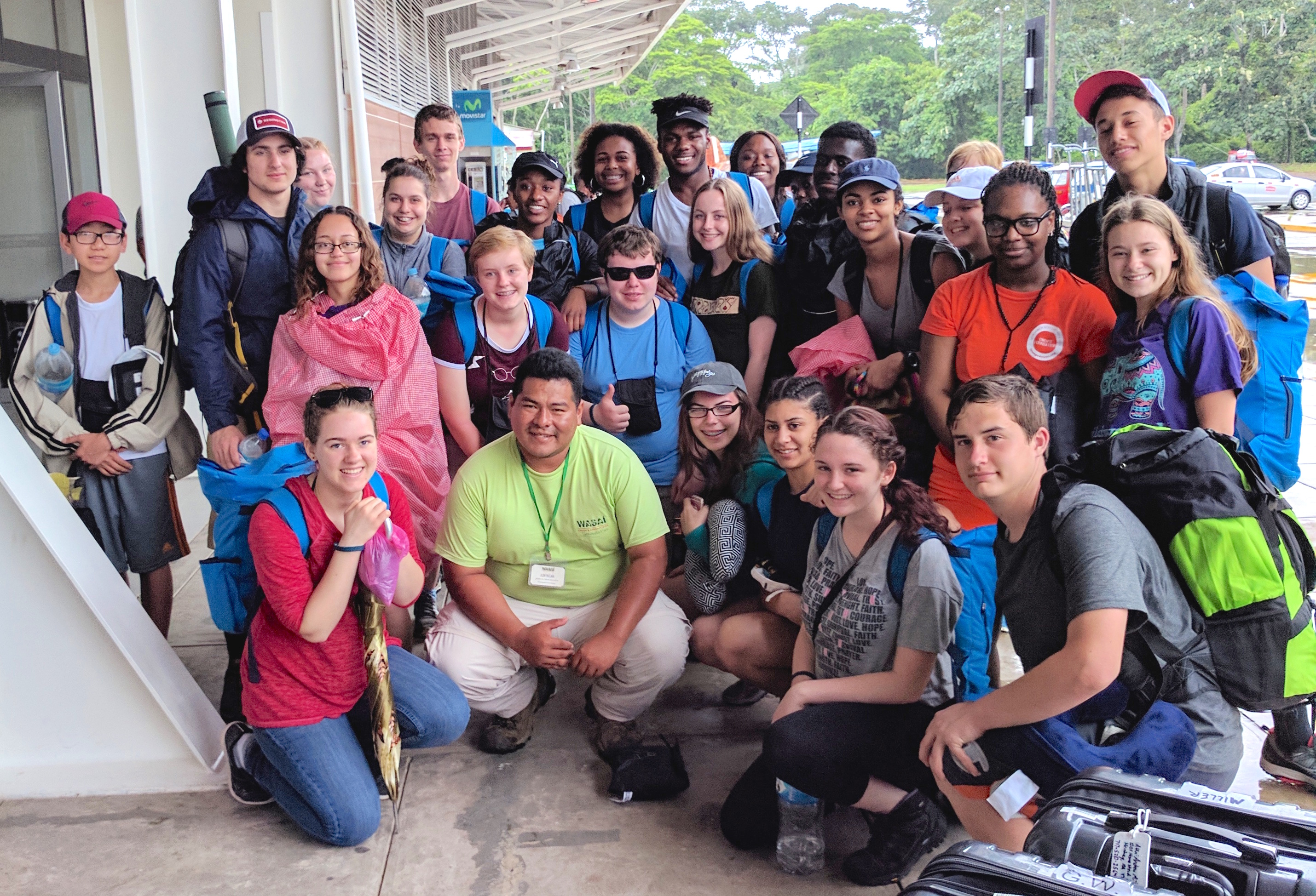 A group of 25 Milton Hershey School high school students and four staff members recently attended a Global Leadership Summit in Peru as part of our Multicultural and Global Education program.