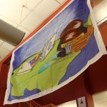 To celebrate Youth Art Month, Milton Hershey Schoo students participated in a nationwide flag design program with the theme, United Through Art.