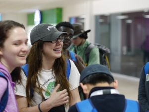 A group of 25 Milton Hershey School high school students and four staff members recently traveled abroad and attended a Global Leadership Summit in Peru.