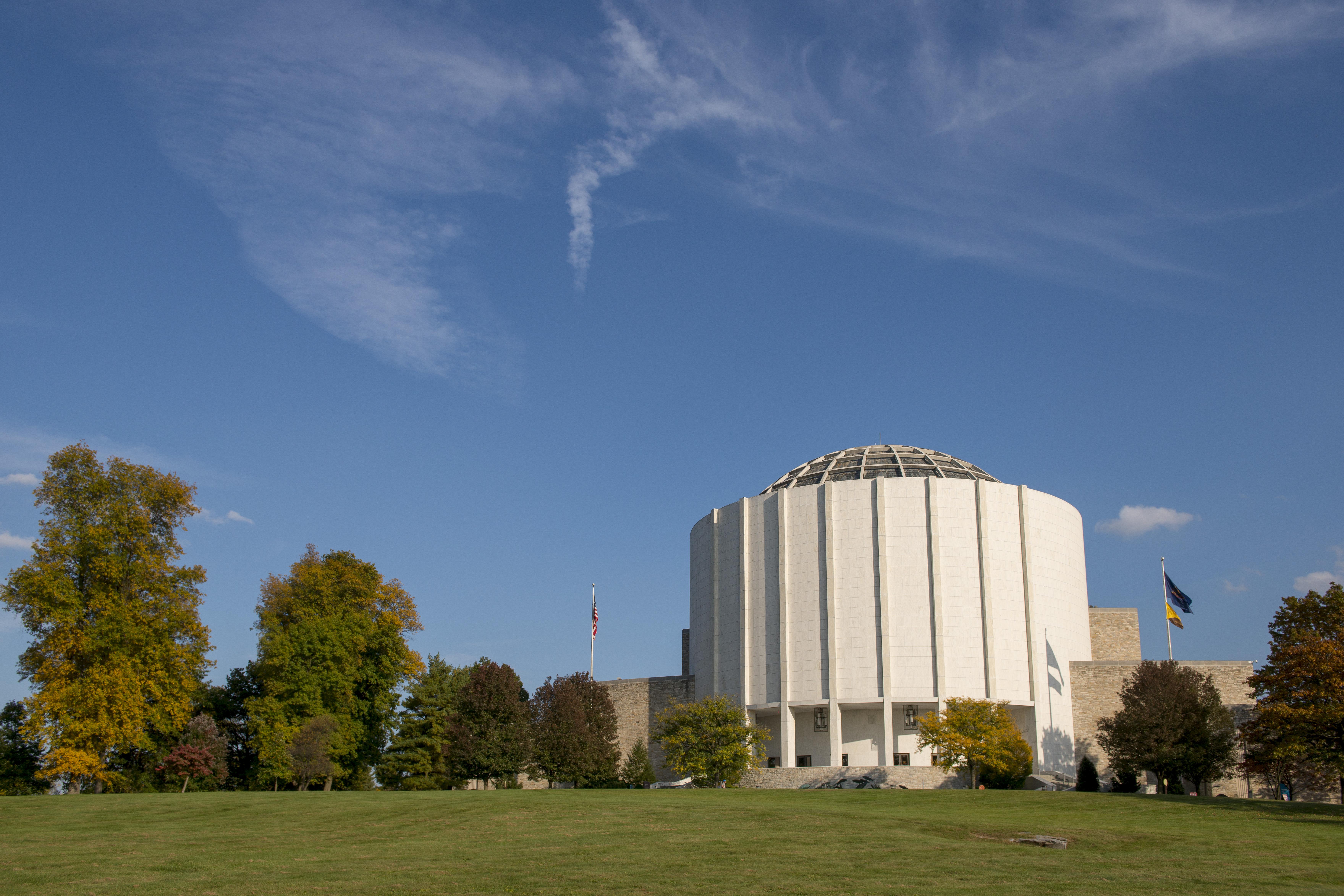 Campus buildings.