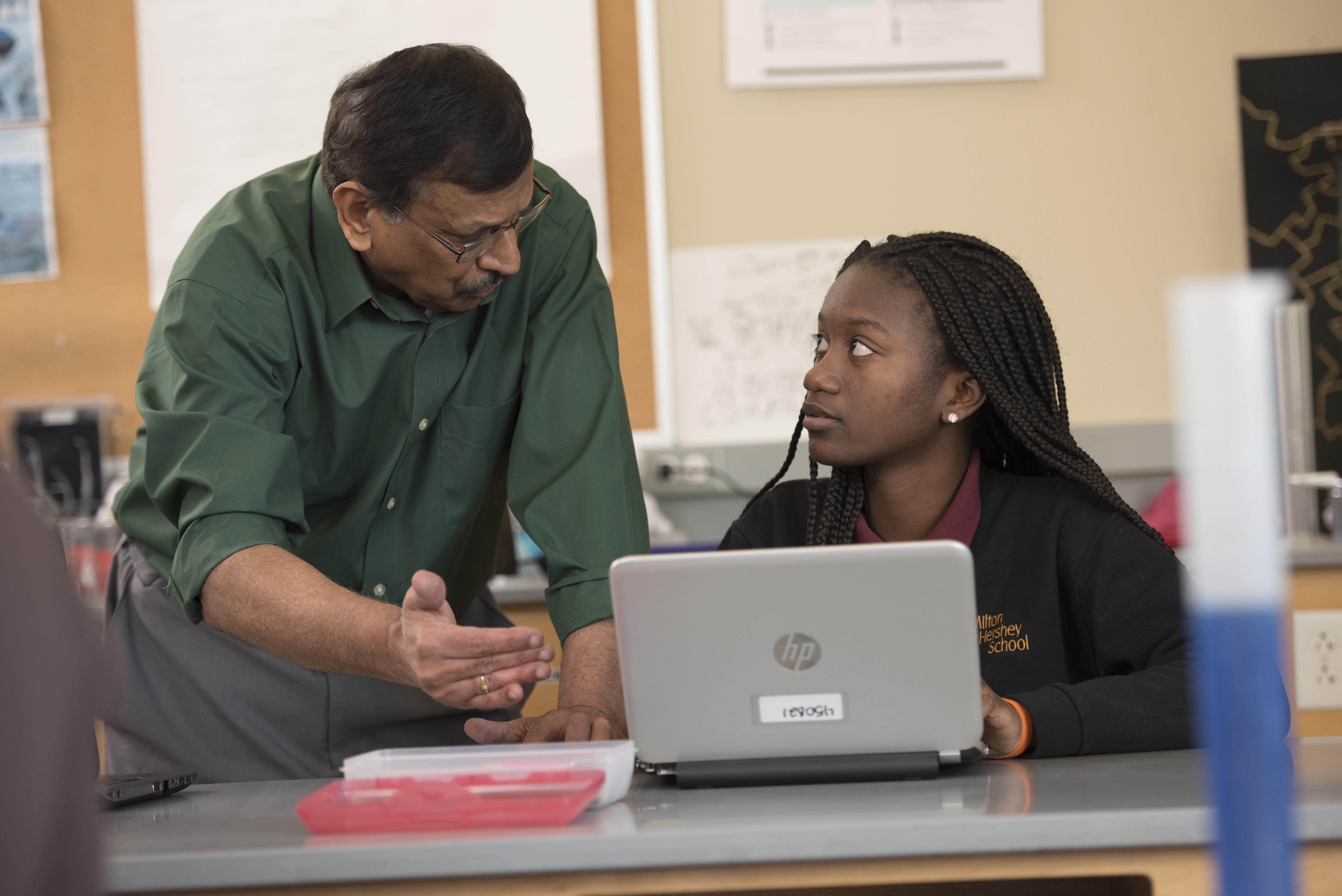 Milton Hershey School high school science teacher Dr. Raj Nagarajan's expertise on plant biochemical genetics was recently featured in BioCoder.