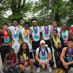 Over the weekend, Milton Hershey School students competed in the PIAA 3A district track and field championships at Shippensburg University.