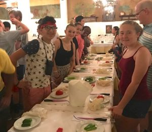 A group of 26 Milton Hershey School high school students and four staff members traveled to Greece and Italy for an educational 12-day international trip.