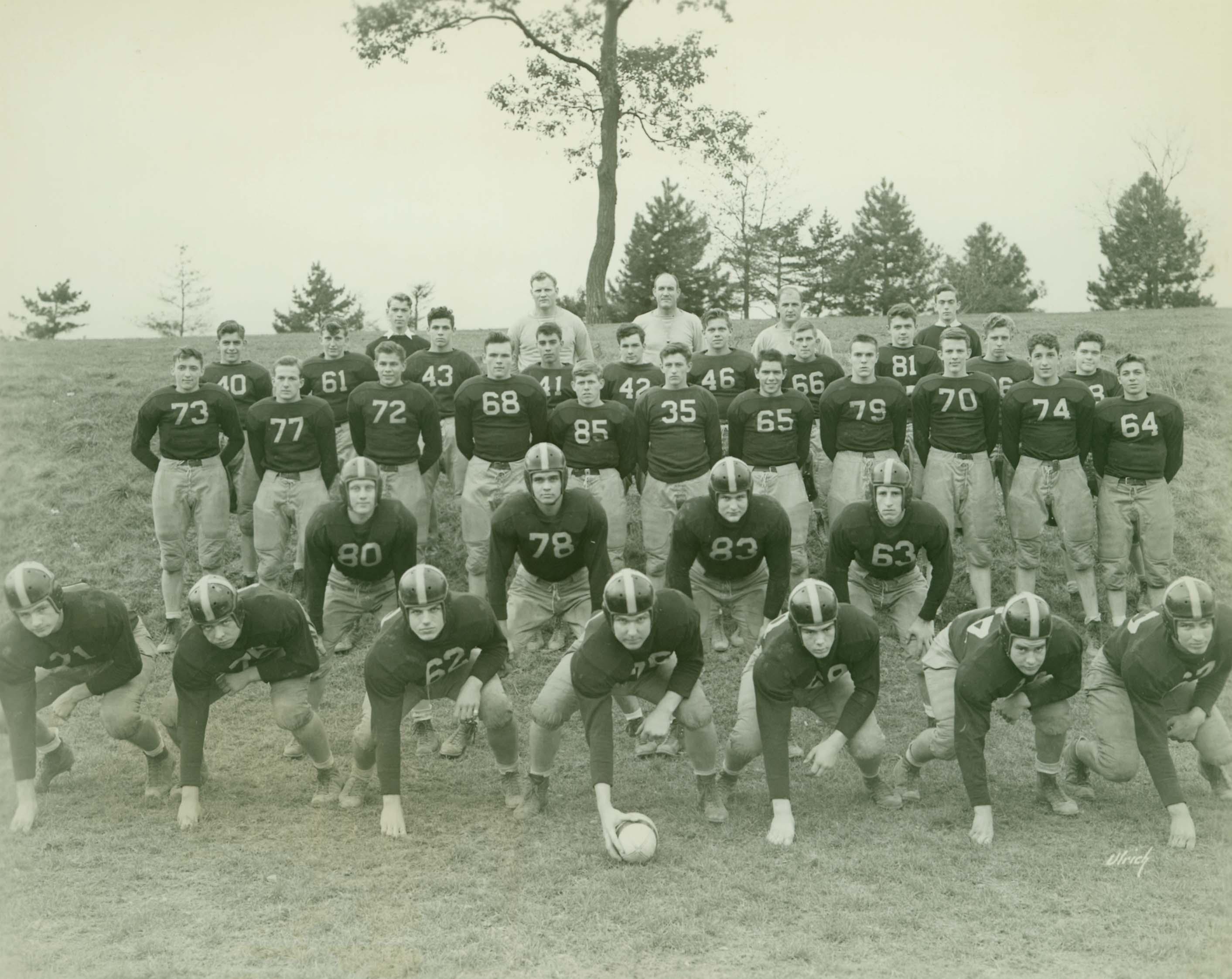 MHS football team 1946-47.