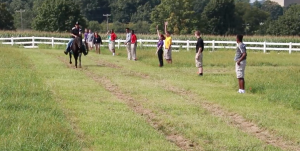 During a recent physics class, Milton Hershey School high school students learned about kinematics by visiting a horse pasture on the MHS campus.