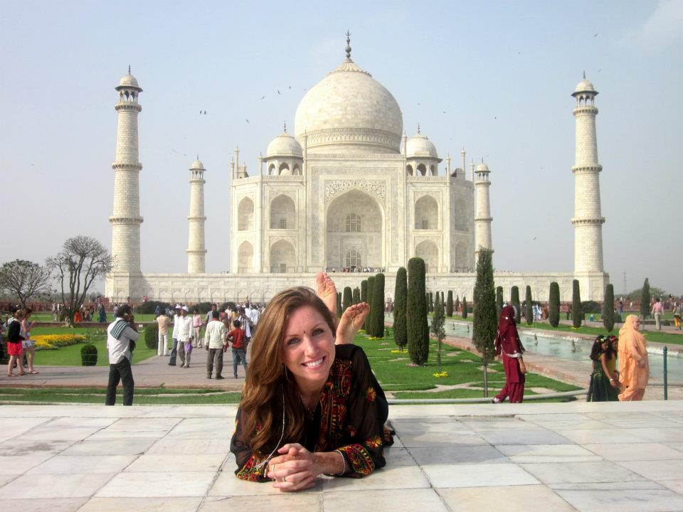 When Shawnda Kohr '08 was seven years old, she enrolled at Milton Hershey School from Chambersburg, Pennsylvania. In this photo, she is visiting India.