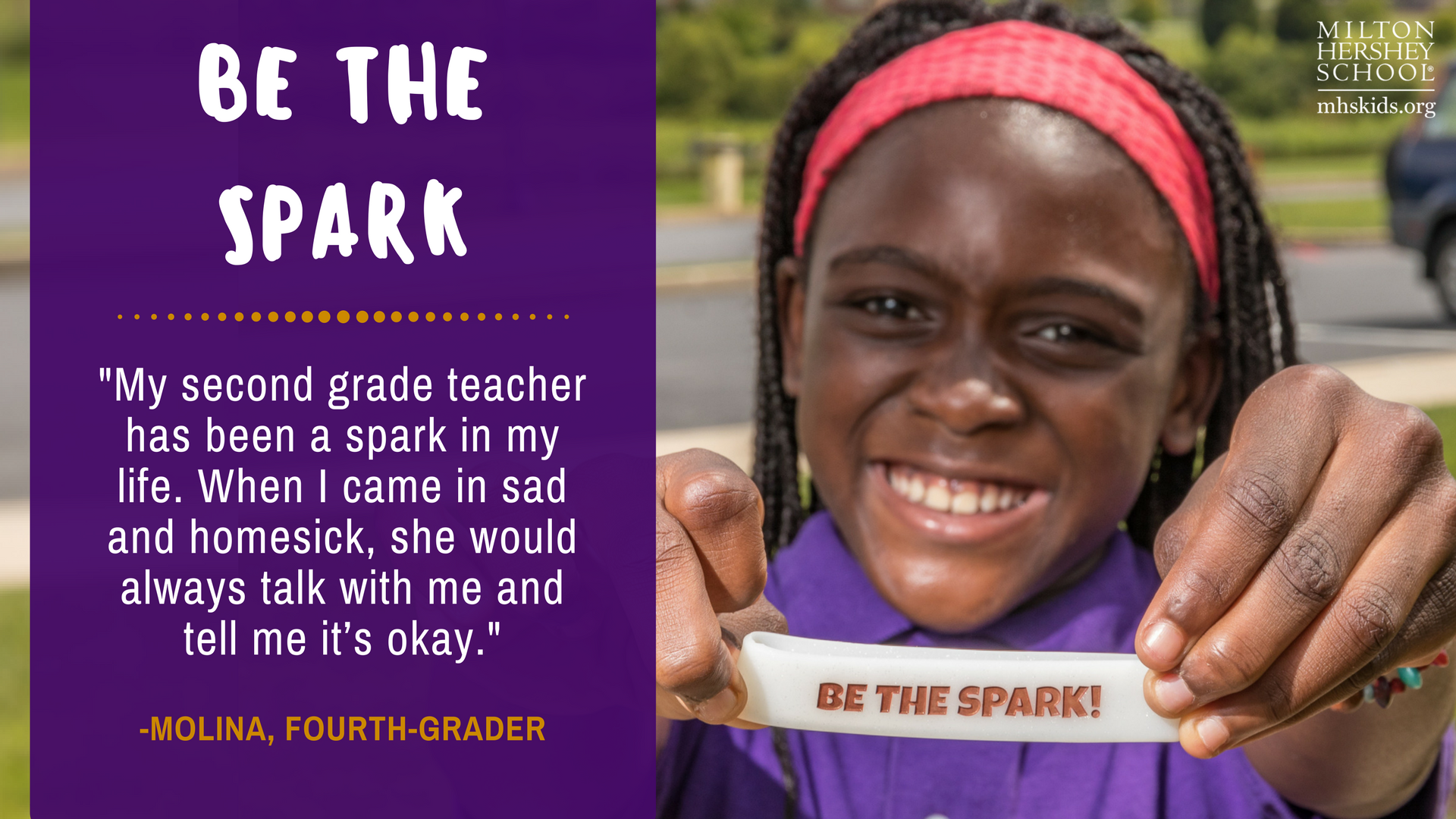 When you live, work, and study in a place that provides continuous support, you have the power to be the spark, find your spark, and share your spark.