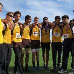 MHS boys' cross country team