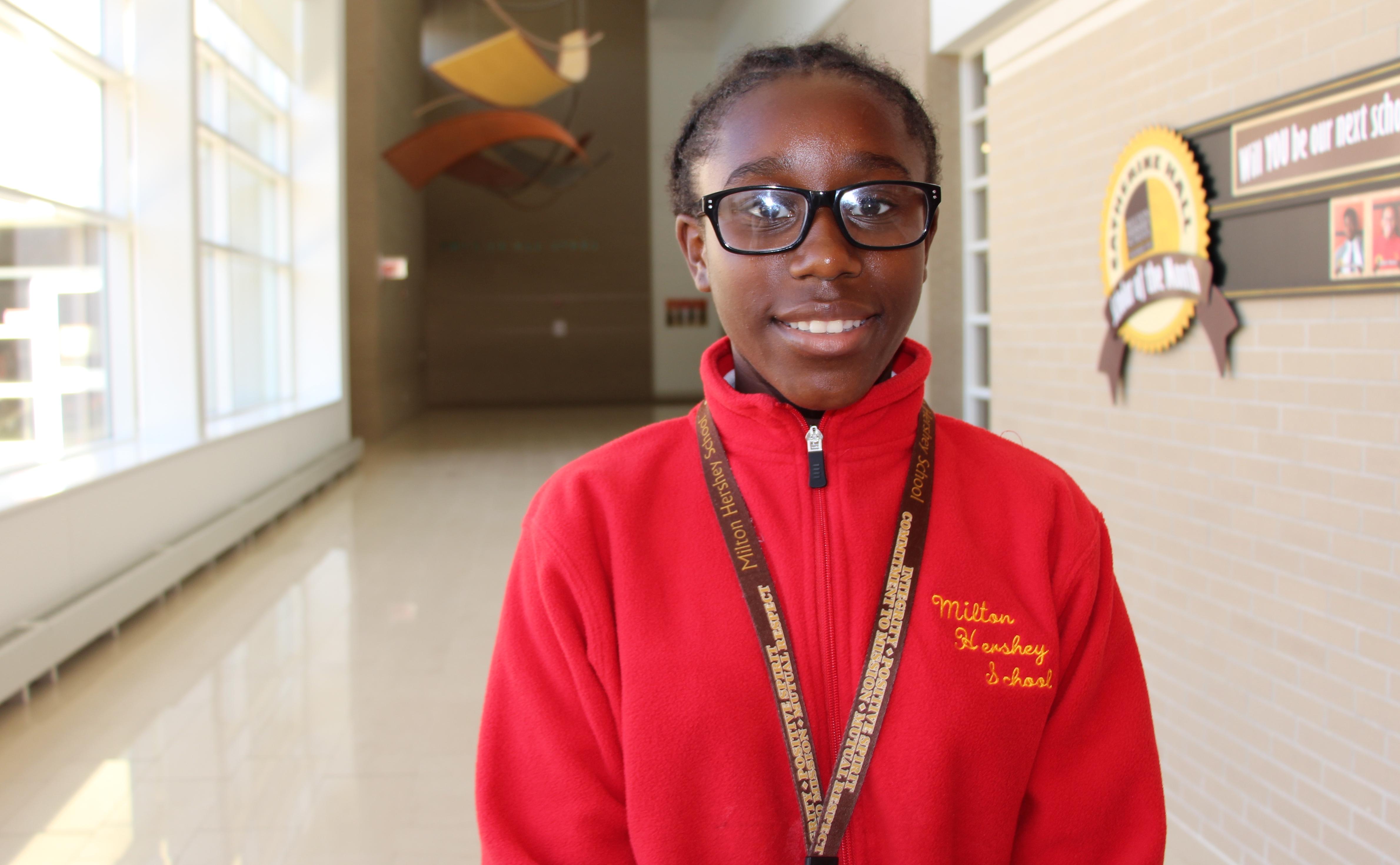 Brianna, a seventh grader