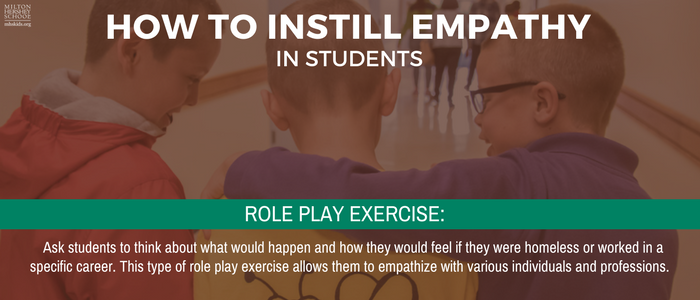 How to instill empathy at MHS