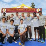 MHS boys' cross country team at state championship