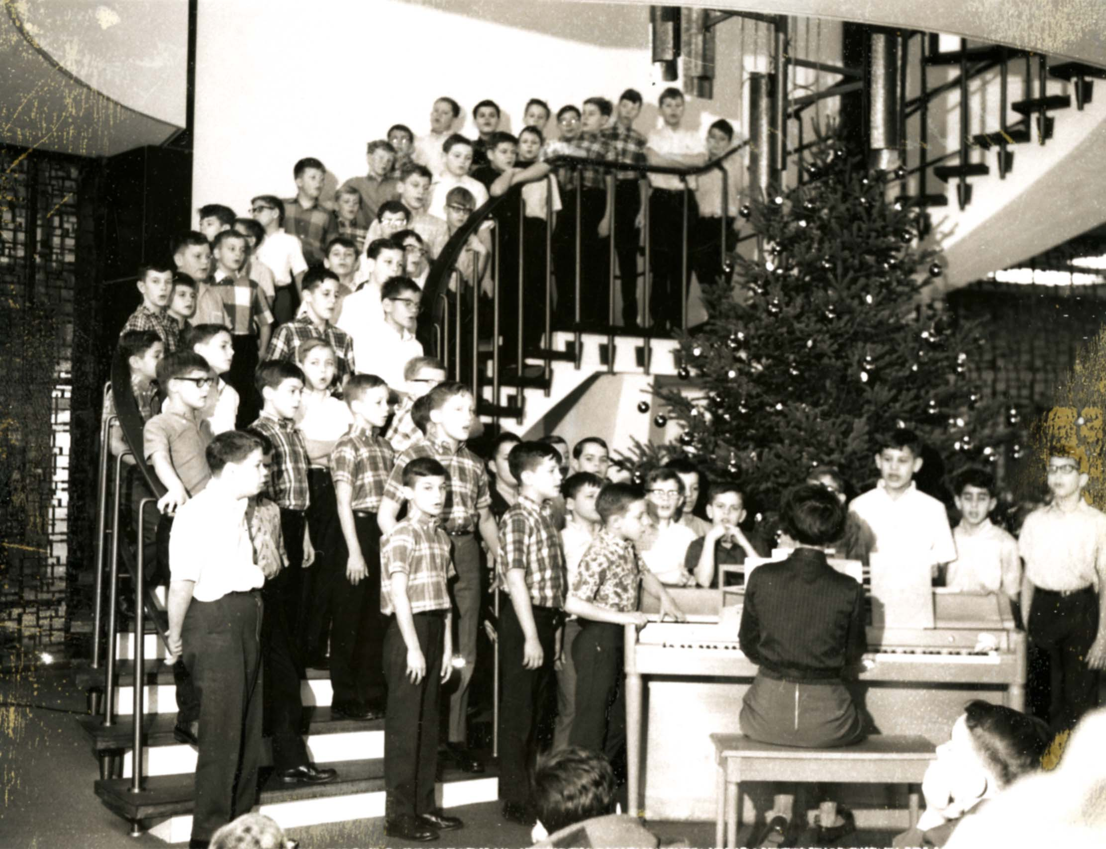 Christmas memories at MHS