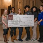 MHS students present $5,000 check to American Cancer Society
