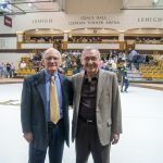 During a wrestling match between Lehigh University and the University of Michigan, MHS alumnus Bob Fehrs '63 was named honorary captain.