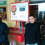 MHS seniors ring the bell for Salvation Army