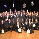 35 students were inducted into National Honor Society