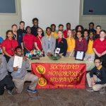 MHS National Spanish Honor Society inductees