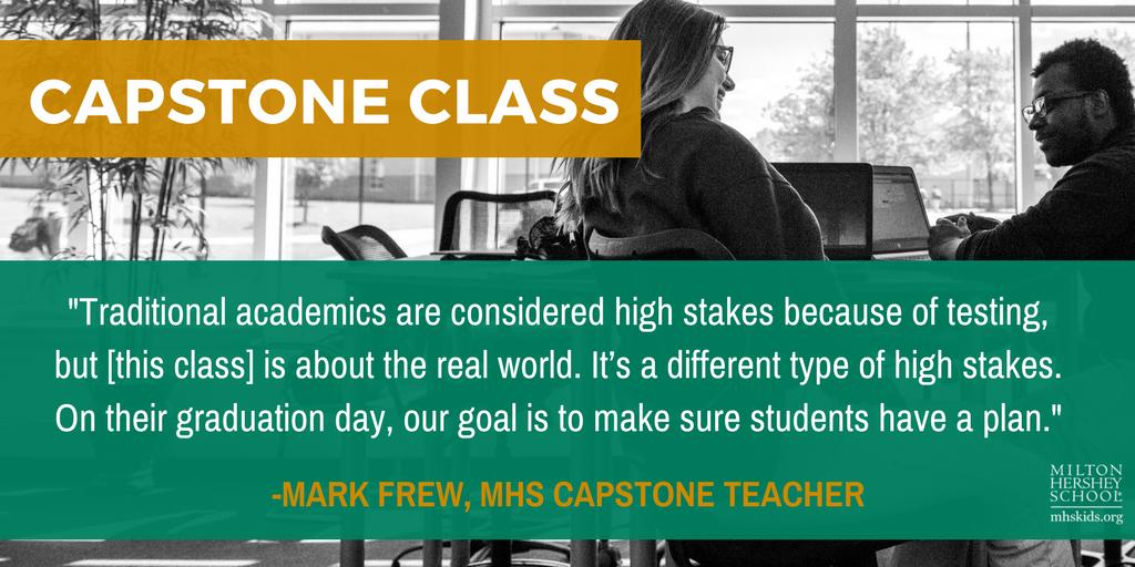MHS capstone class