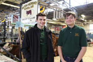 MHS students at the 102nd annual Pennsylvania Farm Show.