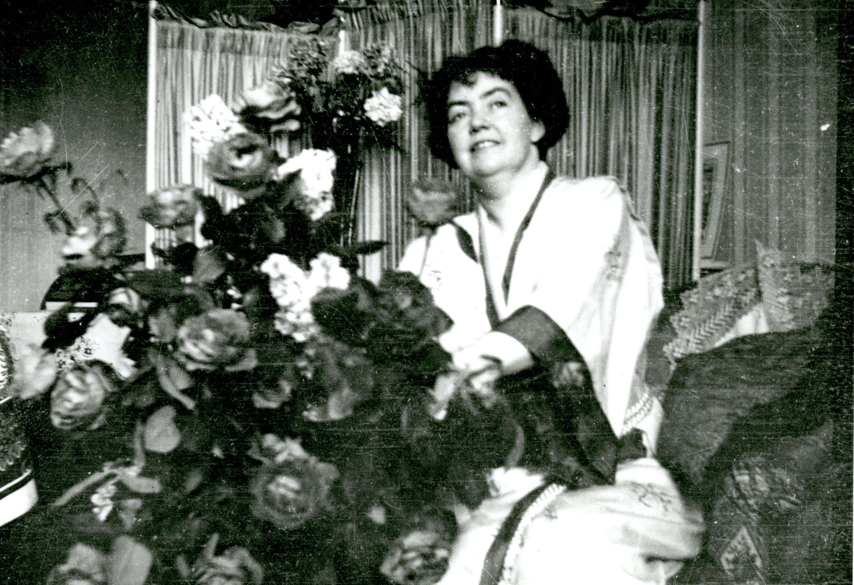 Catherine Hershey loved roses.