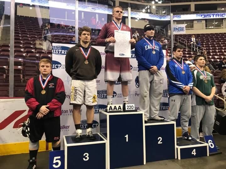 MHS wrestler, Dylan Byrd, qualifies for states