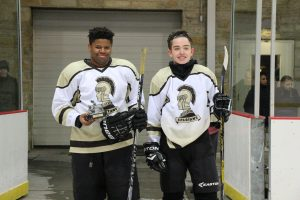 MHS ice hockey senior night