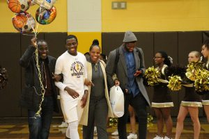 MHS basketball senior night