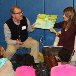 To celebrate a love of literacy, MHS recently organized its annual Go R.E.D. (Go Read Every Day) Night.