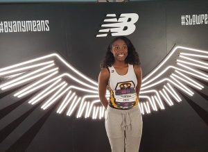 Three members of the Milton Hershey School track and field team participated in the New Balance Indoor Nationals Track and Field Championship.